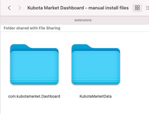 Installation Folders